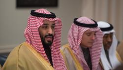 Adel al-Jubeir and Bin Salman