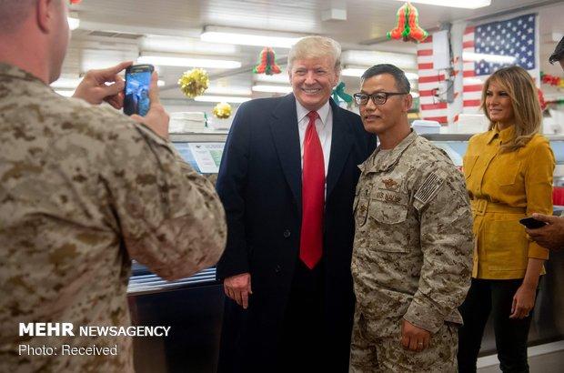 سفر سرزده ترامپ به عراق