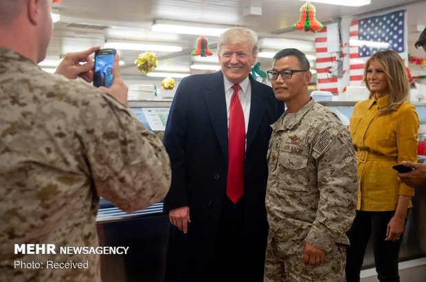 Trump'tan Irak'a sürpriz ziyaret