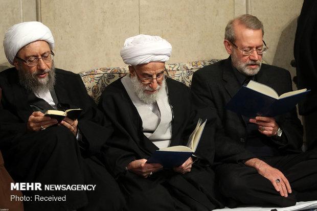 مراسم بزرگداشت آیت الله شاهرودی در حسینیه امام خمینی (ره)