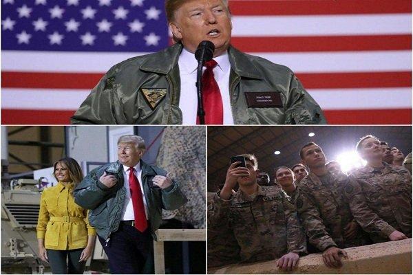 امریکہ کا عراق سے فوج واپس بلانے کا کوئی ارادہ نہیں