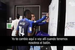 اقدام جالب ستاره فرانسه در فینال جام جهانی