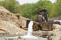 ۲۶۰۰ حلقه چاه غیرمجاز در مازندران شناسایی شد