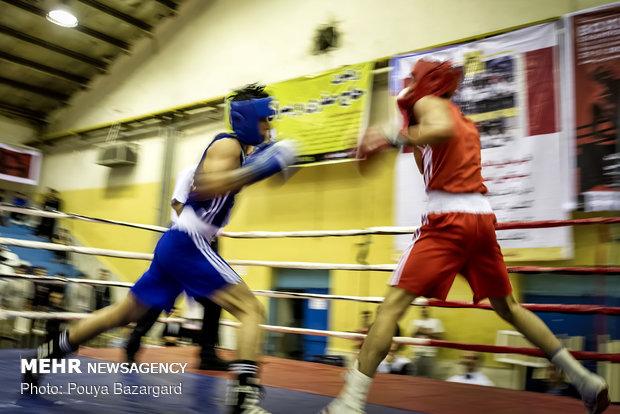 افتتاحیه مسابقات بوکس جوانان قهرمانی کشور در رشت