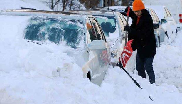 امریکہ کی کئی ریاستوں میں شدید برف باری