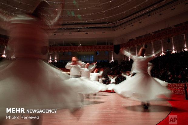 مراسم سالانه رقص سماع در قونیه