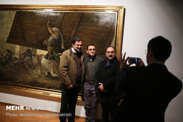 """نمایشگاه نقاشی """"الحق مع علی"""""""