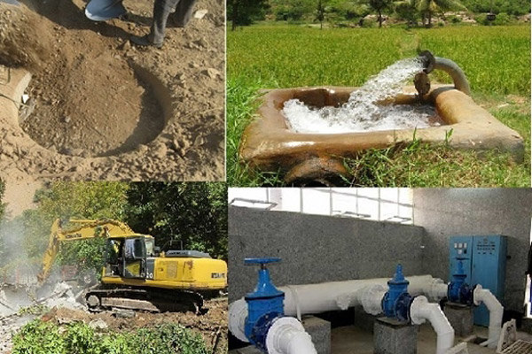۴ حلقه چاه به منابع تامین آب شهر رفسنجان افزوده شد