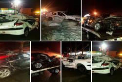 حال مصدومان حادثه ریزش سنگ در جاده چالوس خوب است