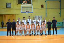 تیم بسکتبال شهرداری قزوین در مقابل توفارقان آذرشهر به پیروزی رسید