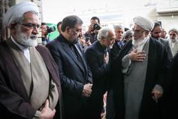مراسم ترحیم مرحوم آیت الله هاشمی شاهرودی در مسجد ارگ