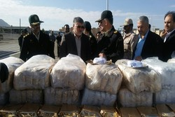 1.82 tons of illicit drugs seized in S Khorasan