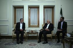 ظريف يستقبل الأمين العام لحركة الجهاد الإسلامي