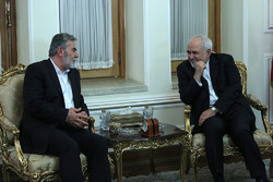 Zarif receives PIJ secretary general