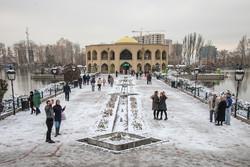 هطول الثلج في تبريز/صور