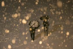 پای برف به آسمان شیراز باز شد/ تردد کند در برخی محورهای فارس