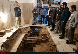 Archaeological remains unearthed in heart of Tehran