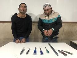سارقان گاوصندوق ها در شهرک غرب دستگیر شدند
