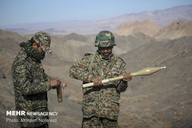 Local military drill in South Khorasan province
