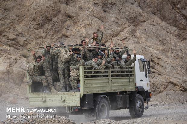 اردوی رزمی صحرایی شهید حسین همدانی در خراسان جنوبی