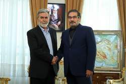 Shamkhani meets with PIJ secretary general in Tehran