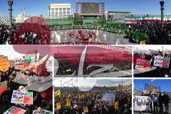 گزارشی از تجمع باشکوه ۹دی در سراسر کشور/ مردم و مسئولان چه گفتند؟