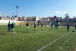 تیم فوتبال شهرداری همدان دربازی برابر کاسپین قزوین مستحق باخت بود