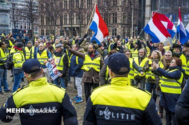 درگیری پلیس و معتعرضان در فرانسه