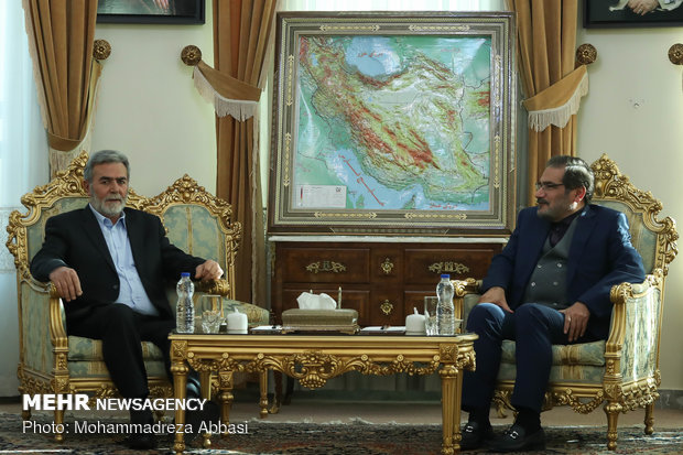 Shamkhani meets with PIJ secretary general