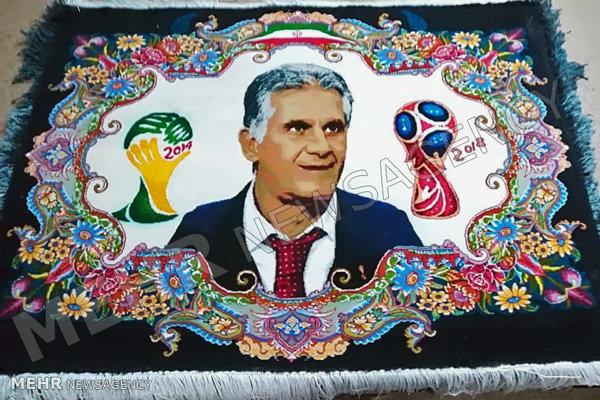تصاویری از هدیه ویژه فدراسیون فوتبال به AFC و کارلوس کیروش