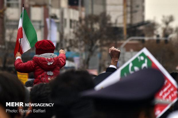 مراسم بزرگداشت یوم الله ۹ دی در مشهد