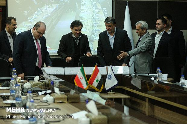 همایش اقتصادی مشترک ایران و سوریه