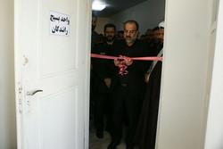 پایگاه مقاومت بسیج شهدای رانندگان در پایانه کالای قزوین افتتاح شد