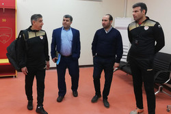 بازدید افشین قطبی از ورزشگاه اختصاصی فولاد خوزستان
