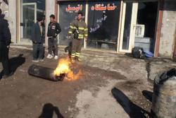 انفجار گاز در «بازارک» رباط کریم حادثه آفرید