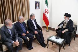 Devrim Lideri Filistin heyeti ile görüştü