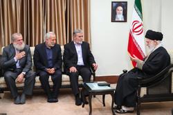 دیدار دبیرکل جنبش جهاد اسلامی فلسطین با رهبر انقلاب