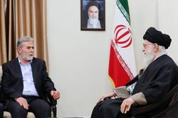 قائد الثورة يستقبل الأمين العام لحركة الجهاد الإسلامي/صور