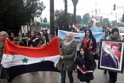تظاهرات ضد ترکیه ای زنان قامشلی سوریه