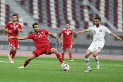 دیدار تیم ملی فوتبال ایران وقطر