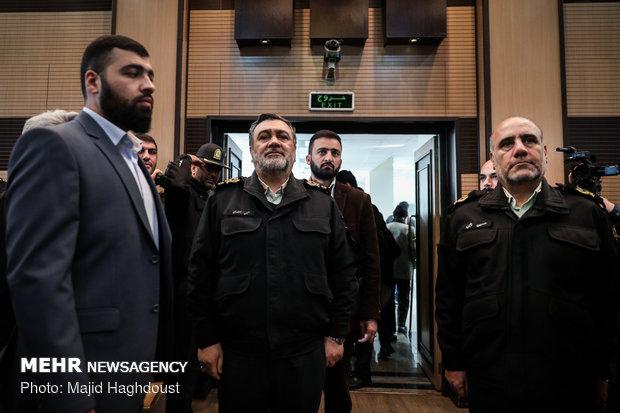 همایش فرماندهان و مدیران فرماندهی انتظامی تهران بزرگ