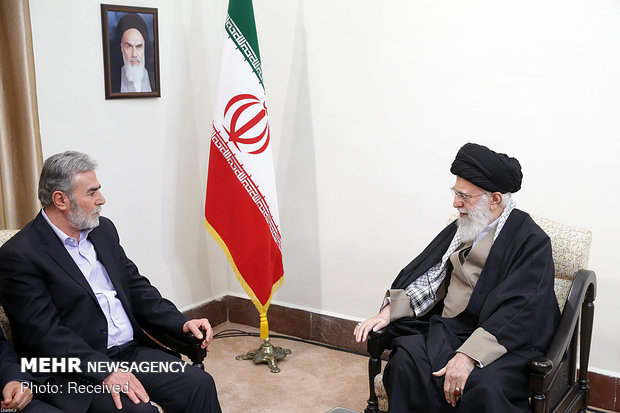 Leader receives secretary general of PIJ