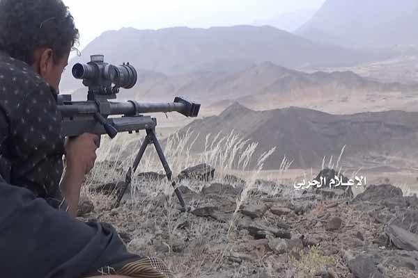 ارتش و کمیته های مردمی یمن ۱۸ مزدور را در جبهه «نهم» شکار کردند