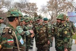 العميد موسوي يقوم بجولة تفقدية لمقر شمال شرق التابع للجيش