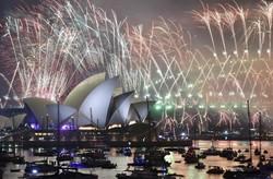 Dünyadaki 2019 yeni yıl kutlamalarından kareler