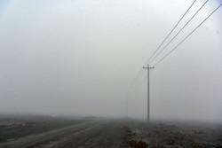 مه گرفتگی شدید در محور دهلران- اندیمشک