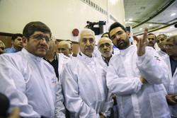 زيارة وزيري العلوم والزراعة لمعهد الدراسات الفضائية