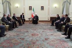 الرئيس روحاني: سيكون النصر النهائي حليفا للشعب الفلسطيني