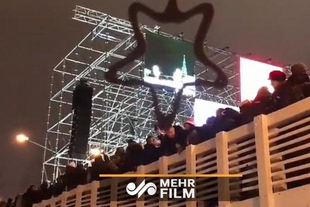 Moskova'da köprü çöktü