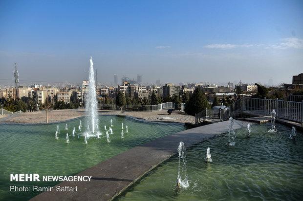 مه گرفتگی صبحگاهی در مشهد